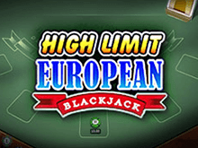 High Limit European Blackjack от Microgaming – в Вулкан Stars на бонус